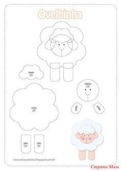 Идеи сувениров-овечек
