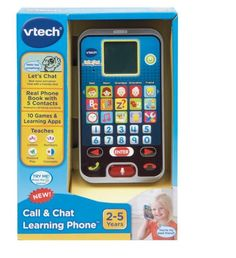 VTech Call Chat Learning Phone Baby Toy Game Play Fun Toddler Gift Boy Girl New #VTech