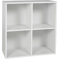 Buy Phoenix 2 x 2 Cube Storage Unit - White at Argos.co.uk - Your Online Shop for Children's toy boxes and storage.