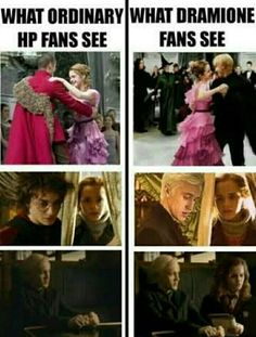 Im a Dramione fan and it should have ended up Draco and Hermione Malfoy in the end Harry Potter Hermione, Harry Potter World, Estilo Harry Potter, Arte Do Harry Potter, Harry Potter Puns, Images Harry Potter, Harry Potter Ships, Harry Potter Universal, Hermione Granger