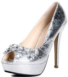 Fish Mouth High-heeled Kvoll Brand Shoes