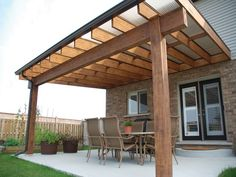 attached covered patio ideas - Google Search