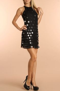 Circle Applique Dress