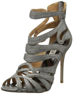Badgley Mischka Women's Taylar Dress Sandal,Anthracite Metallic,6 M US Badgley Mischka http://www.amazon.com/dp/B00FL7K00W/ref=cm_sw_r_pi_dp_3LYYvb0VV5BPA