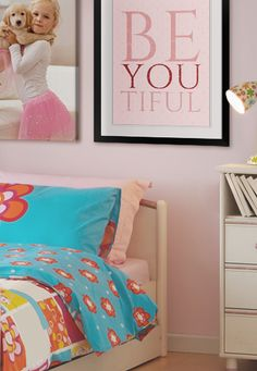 Aww, such a clever quote for a girl/teen room