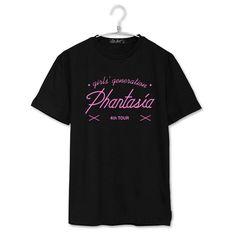 k-pop KPOP Girls'Generation Phantasia Concert Shirt K-POP 2017 New Fashion Solid Cotton Camisas Short Sleeve T-shirts JCF264