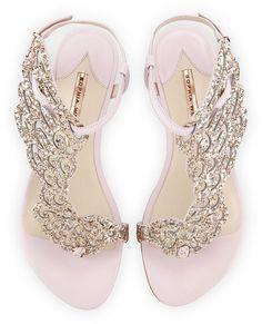 ab80d854fb704 Sandals Summer Sophia Webster Seraphina Angel-Wing Flat Sandal