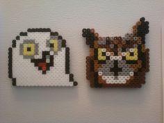 Perler meme owls by Boognish2009