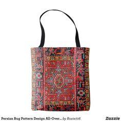 Persian Rug Pattern Design All-Over-Print Tote Bag
