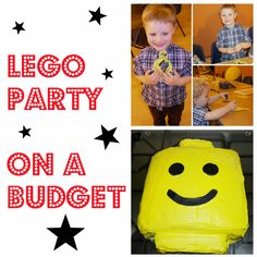 The Handmade Mum: A Lego themed party on a budget!