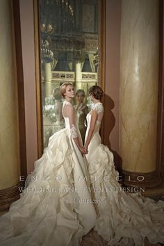 Enzo Miccio Bridal Collection WEDDING DRESS - Advertsing Campaign 3
