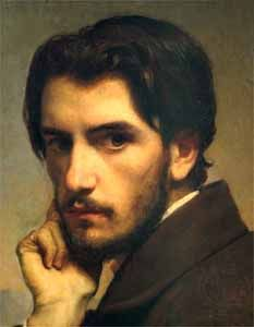 Self Portrait by Leon Bonnat, 1855 Leon Bonnat was a French painter who specialised in portraits. He is also known for giving painting lessons to artists such as Caillebotte, Sargent and Munch, who have become highly-recognised in modern art history. Rembrandt, Op Art, Hans Ulrich Obrist, Art Picasso, Jean Leon, Giovanni Boldini, French Art, Male Beauty, Oeuvre D'art
