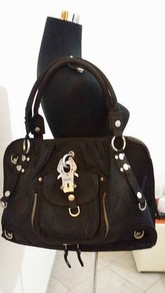"George Gina & Lucy GG&L ""sexy strappy' large shoulder hand nylon bag tasche  