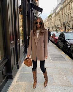 I Thought I Hated Skinny Jeans, But These Outfit Ideas Changed My Mind - Street Style Winter Fashion Outfits, Fall Winter Outfits, Look Fashion, Autumn Winter Fashion, Fashion Beauty, Fashion Style Women, Winter Style, Skinny Fashion, Paris Outfits