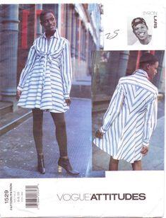 90s Vogue Attitudes Pattern 1529 Byron Lars Womens by CloesCloset, $30.00