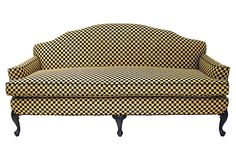 Chenille Sofa on OneKingsLane.com   LOVE THIS