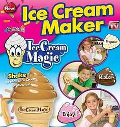 The Ice Cream Magic as seen on TV product looks to be a great way to not only enjoy some of this delicious treat but also make it yourself.