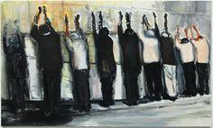 Marlene Dumas, Wall weeping