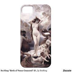 "Roi King ""Birth of Venus Censored"" iPhone Case"