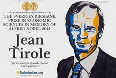jean Tirole, un français Prix Nobel d'économie 2014
