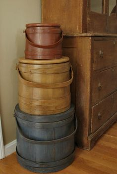 beautiful stack of firkins