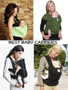 Best baby carriers for your baby - Reviews from a real mom on what carriers work best for what age