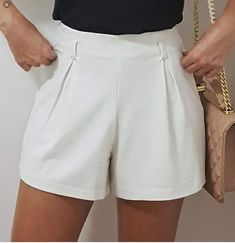 Short Outfits, Simple Outfits, Short Dresses, Casual Outfits, Cute Outfits, Fashion Outfits, Womens Fashion, Formal Shorts, Couture