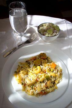 veg biryani - hyderabadi vegetable biryani recipe, veg biryani recipe