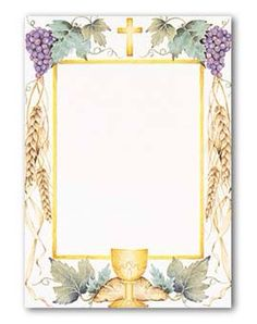 I use it as a banner for Holy Communion celebration