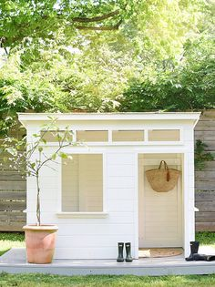 Adorable Modern Playhouse by — iron & twine - Modern Design