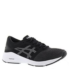 ASICS Womens Roadhawk FF Running Shoe Color BlackSilverWhite Regular Width Size 85 ** Details can be found by clicking on the image. (This is an affiliate link) Ankle Highs, Womens Fashion Sneakers, Asics Women, Black Silver, Running Shoes, Athletic Shoes, Adidas Sneakers, Stuff To Buy, Image Link