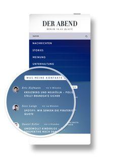 Der Abend | News App by Swipe and Der Spiegel