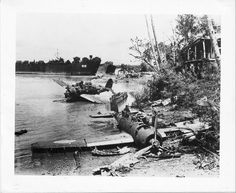 Aichi E13A 'Jake' Floatplane Wrecks Palawan Island Philippines 1945 by dfboy40, via Flickr