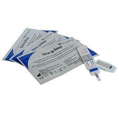 Premier signe urinaire dépistage des drogues – détectant Cannabis (Marijuana, Haschisch, THC) – Pack de 5 stupéfiants kits de test /…