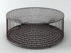 Kenneth Cobonpue Amaya Coffee Table 3d model   Kenneth Cobonpue