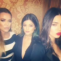 Khloe, Kylie, and Kendall