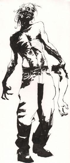 jason alexander undead Comic Art