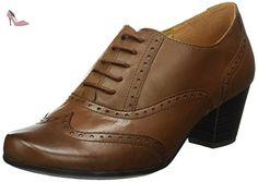 Caprice 23300, Derby femme - Marron (COGNAC NAPPA 303), 40 EU - Chaussures caprice (*Partner-Link)