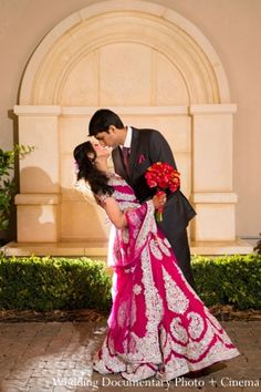 indian-wedding-portrait-groom-bride-inspiration http://maharaniweddings.com/gallery/photo/3279