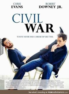 RDJ just posted this to make Civil War look like a chick flick