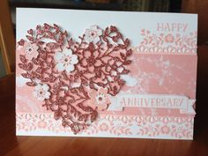Andy and Sarah's anniversary card