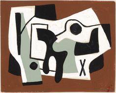 Ad Reinhardt (American, 1913–1967)  1938. Gouache on paper © 2012 Estate of Ad Reinhardt