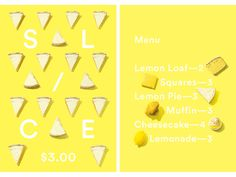Branding and packaging design for The Lemonade Stand, a pop-up shop in Toronto's east end. This project was part of a larger initiative demonstrating the effectiveness of Yellow Pages small business services. Lemons are squeezed and squished for our refreshingly simple lemonade, so we squeezed and squished a custom-type treatment onto our signature tall bottles, and capped them off with smiley face stickers to show which were sweet and which were tart.