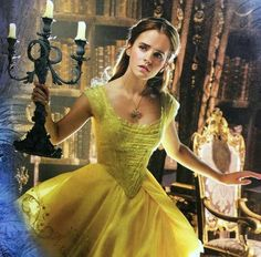 Emma Watson as Belle in Disney's upcoming, live-action Beauty and the Beast