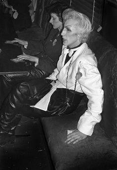 Martin Degville - Billy's club (1978) by Derek Ridgers.