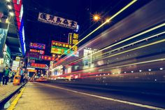 Mongkok by night - Hong kong by Galdric Pons