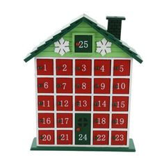 The Holiday Aisle Rustic Cabin Advent Wooden Calendar Countdown #littlecabin