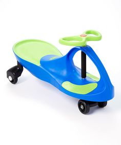 Another great find on #zulily! Blue & Green SwingCar #zulilyfinds