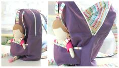 backpack doll tutorial