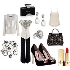 A Night on the Town, created by donna-blankenship-bryant on Polyvore